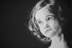 Sophie | 65 x 50cm | Charcoal on Fabriano